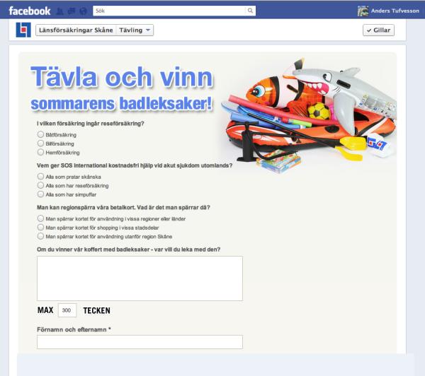 Regler Facebook Tävling