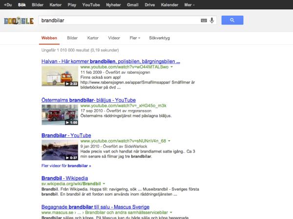 google-sökning
