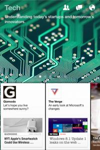 Facebook Paper Tech